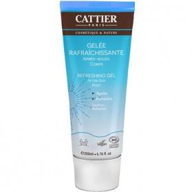 Cattier aftersun gel refrescante 200 ml con agua de glaciar suizo