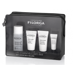 Filorga estuche esencial antiedad sol.micelar50ml+meso mask15 ml+time filler15 ml+optimeyes 4ml