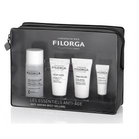 Filorga estuche esencial antiedad sol.micelar50ml+meso mask15 ml+time filler15 ml+optimeyes 4ml