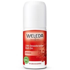 Weleda desodorante de Granada 24H roll-on 50 ml