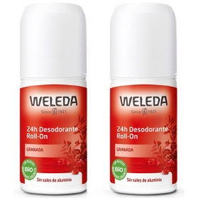 Weleda DUPLO desodorante de Granada 24H roll-on 50 ml