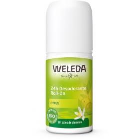 Weleda desodorante Citrus 24H roll-on 50 ml