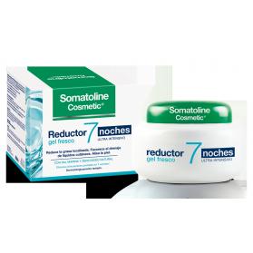 Somatoline cosmetic gel fresco reductor 7 noches fragancia marina 450ml