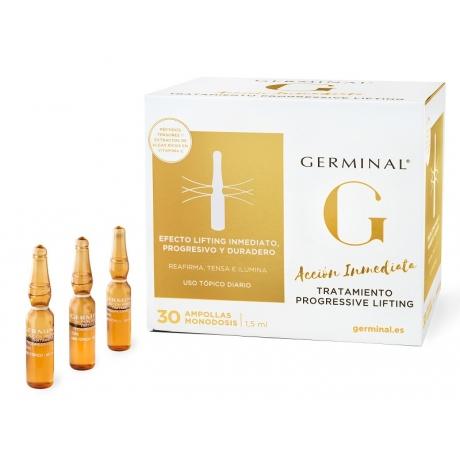 Germinal Progressive Lifting 30 ampollas con Péptidos y Algas
