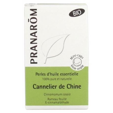 Pranarom Aceite esencial de Canela de China 60 perlas