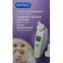 Alvita Termómetro de oído por infrarrojos