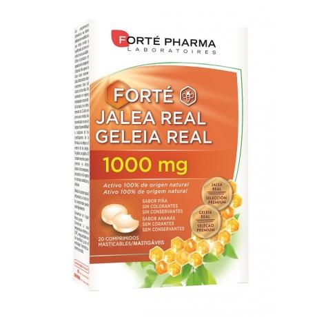 Forte jalea real comp masticables  1000 mg 20 comp