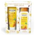 Weleda COFRE Baby Gel-champú 200 ml + Leche corporal 200 ml