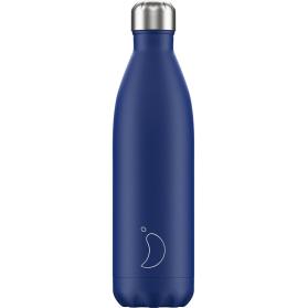 Chilly's Bottle Mate Azul botella termo de acero inoxidable 750 ml