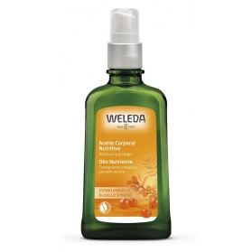 Weleda espino amarillo aceite corporal nutritivo 100 ml