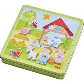 Haba la granja de peter y paulina caja de  juego magnético ref 301951