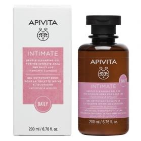 Apivita intimate daily gel limpiador suave uso diario con camomila y propóleo 200ml