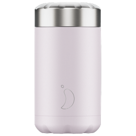 Chilly´s termo de acero inoxidable para sólidos lila blush 500 ml