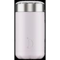 Chilly´s termo de acero inoxidable para sólidos lila blush 500 ml