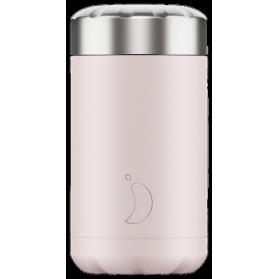 Chilly´s termo de acero inoxidable para sólidos rosa blush 500 ml