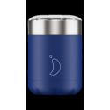 Chilly´s termo de acero inoxidable para sólidos azul 300 ml