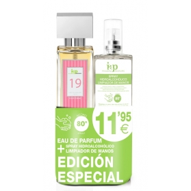 Pack iap pharma nº19 150 ml + spray hidroalcohólico