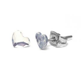 Farma bijoux pendiente hipoalergénico modelo  corazòn piatto be 172c01