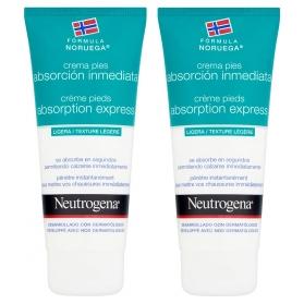 Neutrogena duplo crema pies absorción inmediata 2 x 100 ml