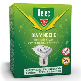 Relec día y noche antimosquitos eléctrico + recarga