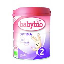BabyBio 2 Óptima leche...