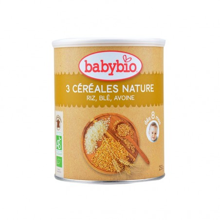 Babybio 3 Cereales Trigo,...