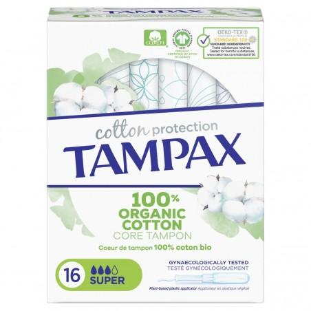 Tampax Natural Super 16 uds...