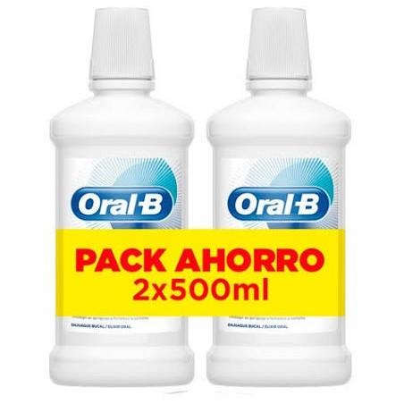Oral-b Enjuague Bucal duplo...