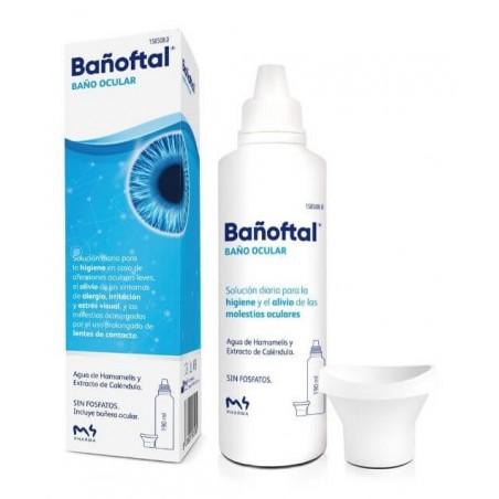 Bañoftal Baño Ocular 190 ml...