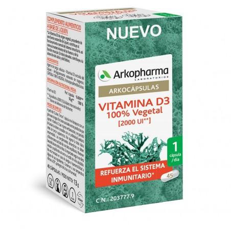 Arkocápsulas Vitamina D3...